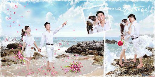 phông ghép ảnh cưới