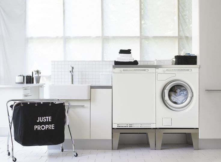 Asco SLR, laundry room / Современная функциональная прачечная.