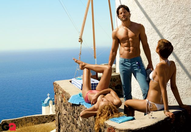 Joe Manganiello of True Blood in GQ's Summer Vacation Style Guide: Wear It Now: GQ