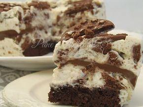 Torta Semifreddo Pan di Stelle alla Nutella e Mascarpone questa ricetta golosissima vi piacera' tantissimo perche' e' un semifreddo molto facile da fare