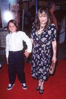 Exene Cervenka and her son with Viggo Mortensen.