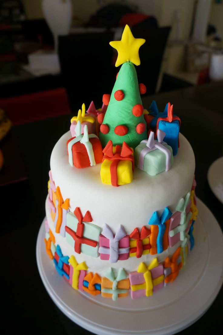 Christmas Cake. Made by Mary Paradissis.