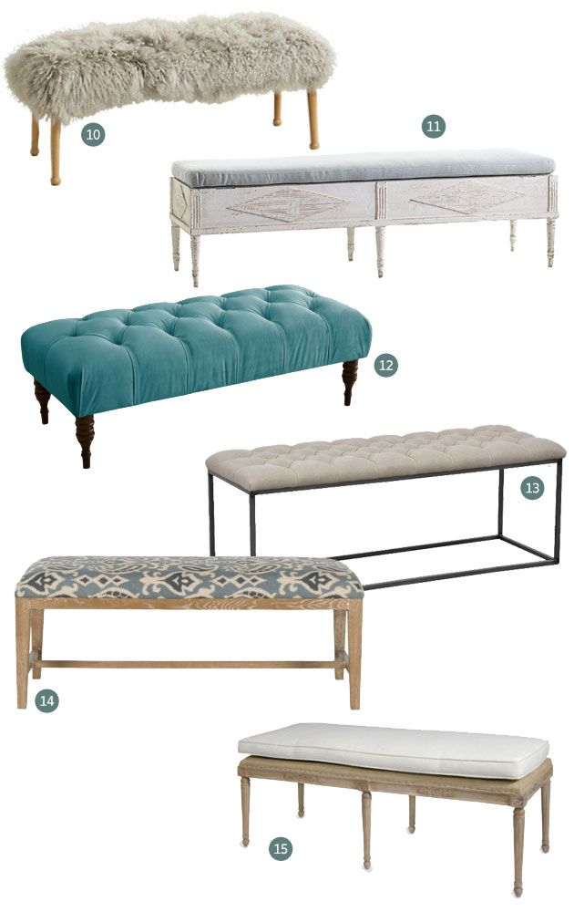 15 Of The Best Upholstered Benches
