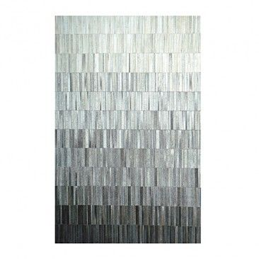 [ linie design ]: fade leather rug