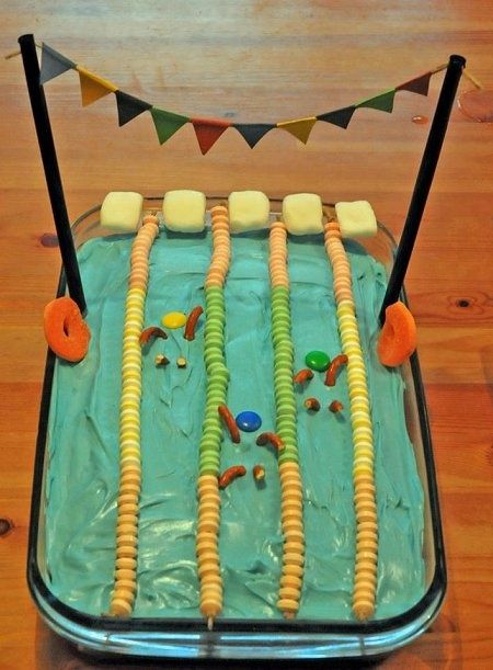 Swimming Pool Cake | Swim Team | Pinterest