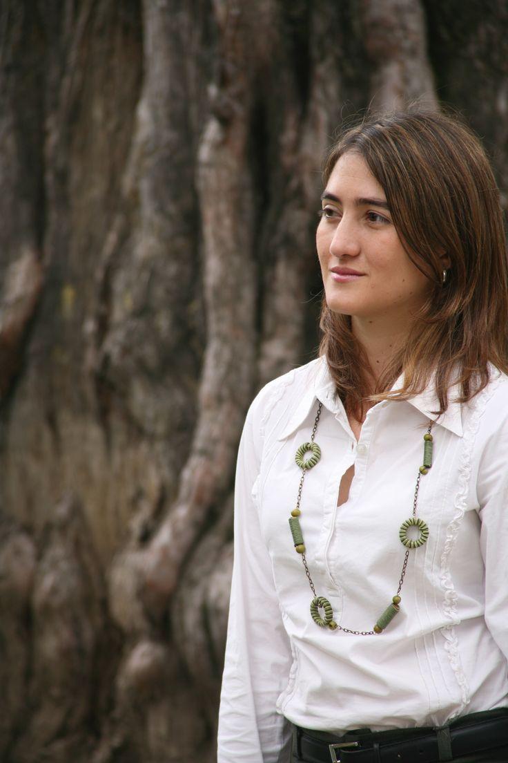 Ingeniera civil, magíster en Hidrosistemas de la Universidad Javeriana, Paula Andrea Villegas González —apasionada por el tema del agua