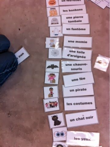 Primary French Immersion Resources: Les cinq au quotidien