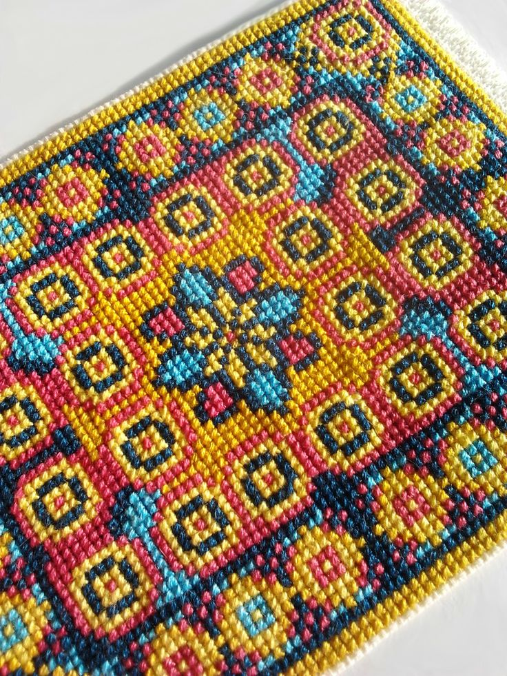 how to do cross stitch instructions