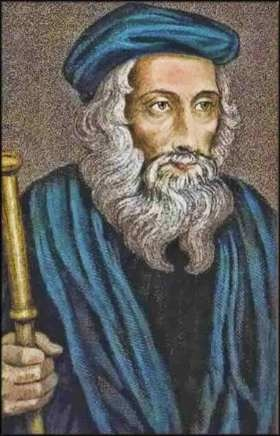 John Wycliffe (1320-1384) was a professor of Latin and divinity at Oxford who began to profess that that the bible should be available in the common tongue. His followers were known as Lollards (from the Dutch for muttering and/or the Franciscan Lolhard who converted to the Waldensians in the 1370s), although they varied greatly in belief. Wycliffe's Bible was published in 1382.