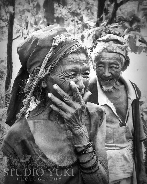 Travel Photo Couple, Nepal, Black and White, Valentines ...