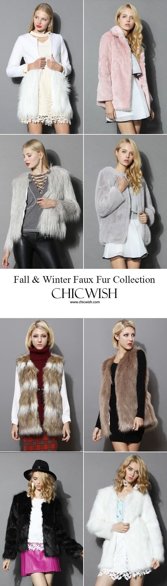 Fall and winter faux fur collection  chicwish.com