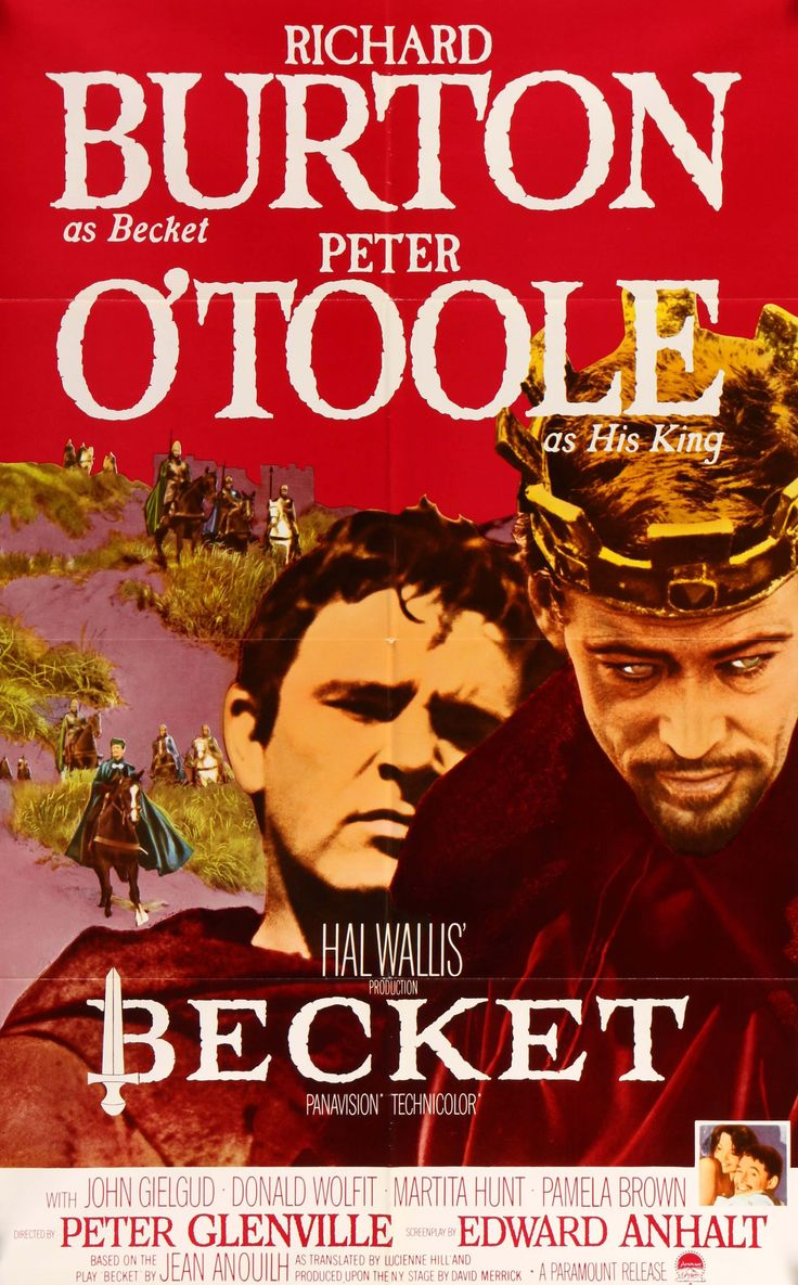 becket the movie December 29 saint thomas becket, the well-known archbishop of canterbury, england, is a saint with a checkered past as depicted in the movie.