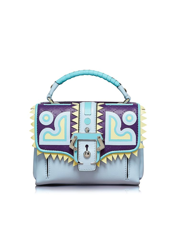 Paula Cademartori Dun Dun Leather Satchel at FORZIERI