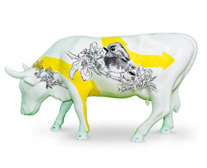 TIZIEU LIBRES COMME L'AIR L'ARTISTE Tizieu, de son vrai nom Nicolas Lemercier, trentenaire, français, illustrateur et directeur artistique. Son style d'illustrations et son identité artistique s'inspirent… - Cornette de Saint Cyr - 31/10/2015 #Vache #Cow