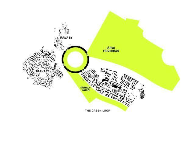 Stockholmsporten Master Plan / BIG - Diagram