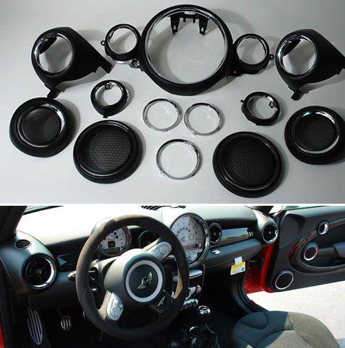 Mini cooper interior trim kit interior accents - Mini countryman interior accessories ...