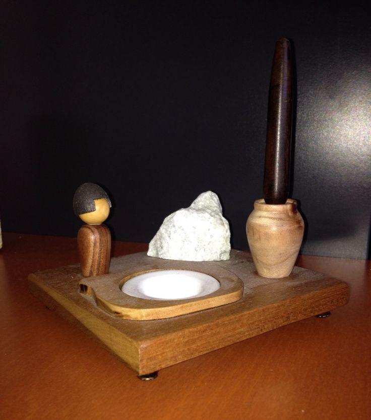 Encrier et porte plume jardin zen via youtube for Porte zen fiber