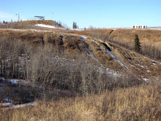 Paskapoo Ridge - Canada Olympic Park - Calgary, Alberta, Canada