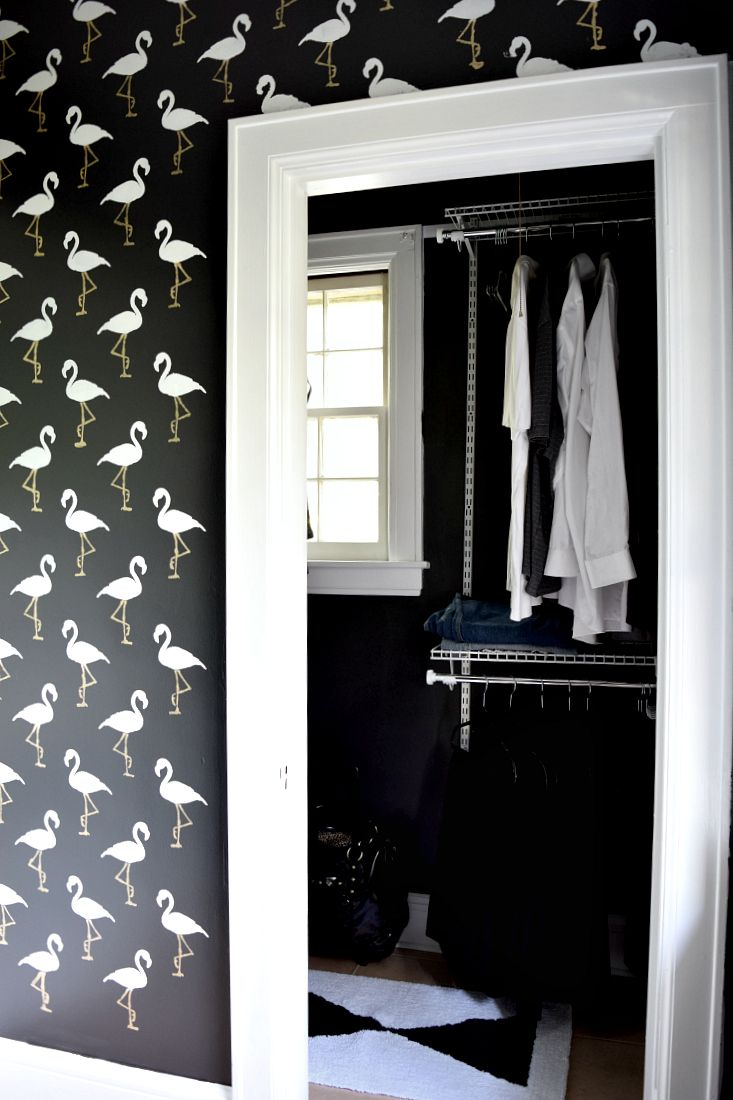 How To Stencil Your Bathroom Walls Bathroom Wall