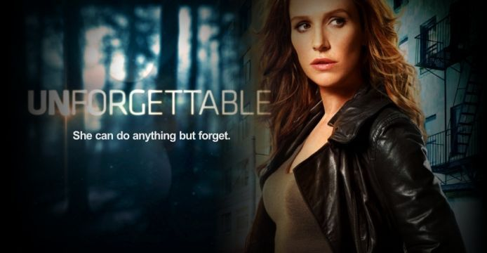 TV show 'Unforgettable'. She changed her hair fm blonde to redhead...I liked the show anyway. Like the actress a lot.