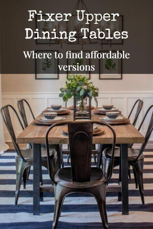 31++ Joanna farmhouse table info