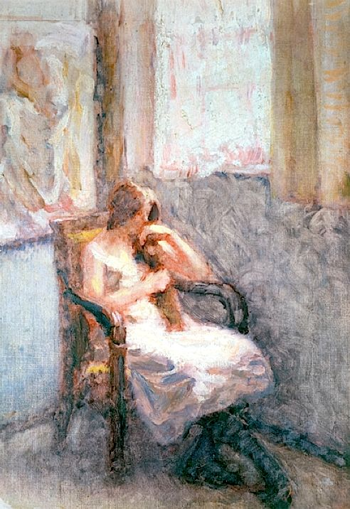 Girl by a Window - Roderic O'Conor
