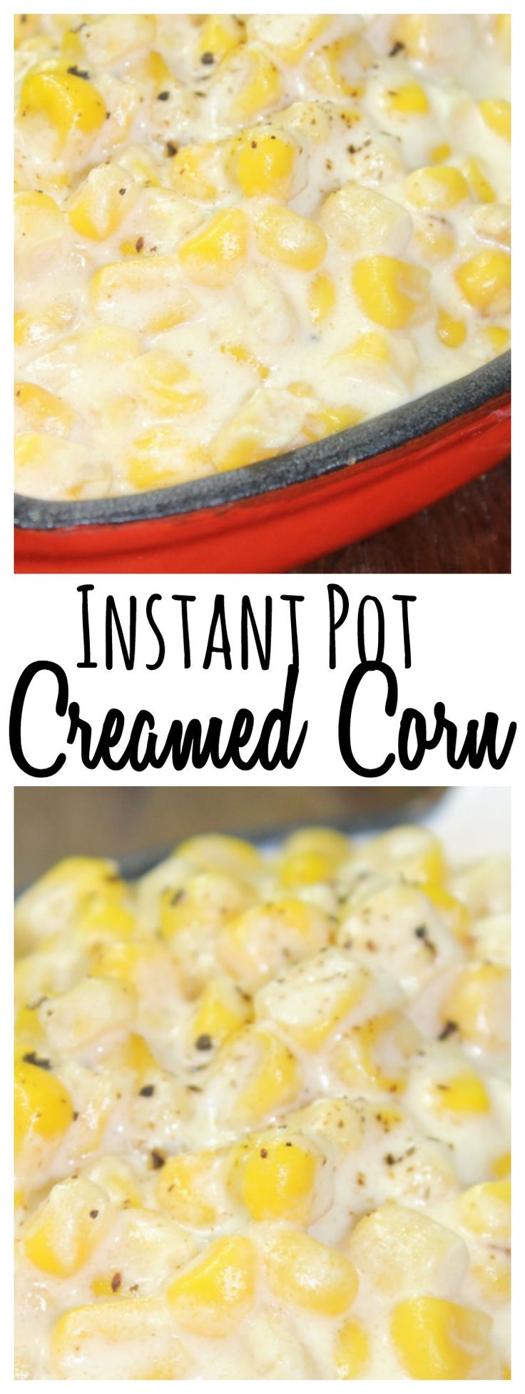 Combine cream cheese, and butter in a rich, and buttery creamed corn that only takes a few minutes to cook up in the Instant Pot!