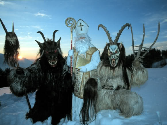 I have to go to a Krampus festival! Austria..