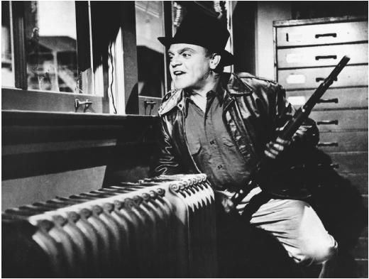 For Kim Grant Director of Finance, Administration & Operations it is James Cagney in White Heat