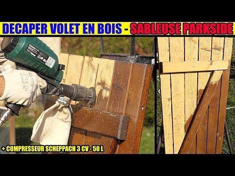 Youtube En 2019 Volet Bois Bois Et Sablage