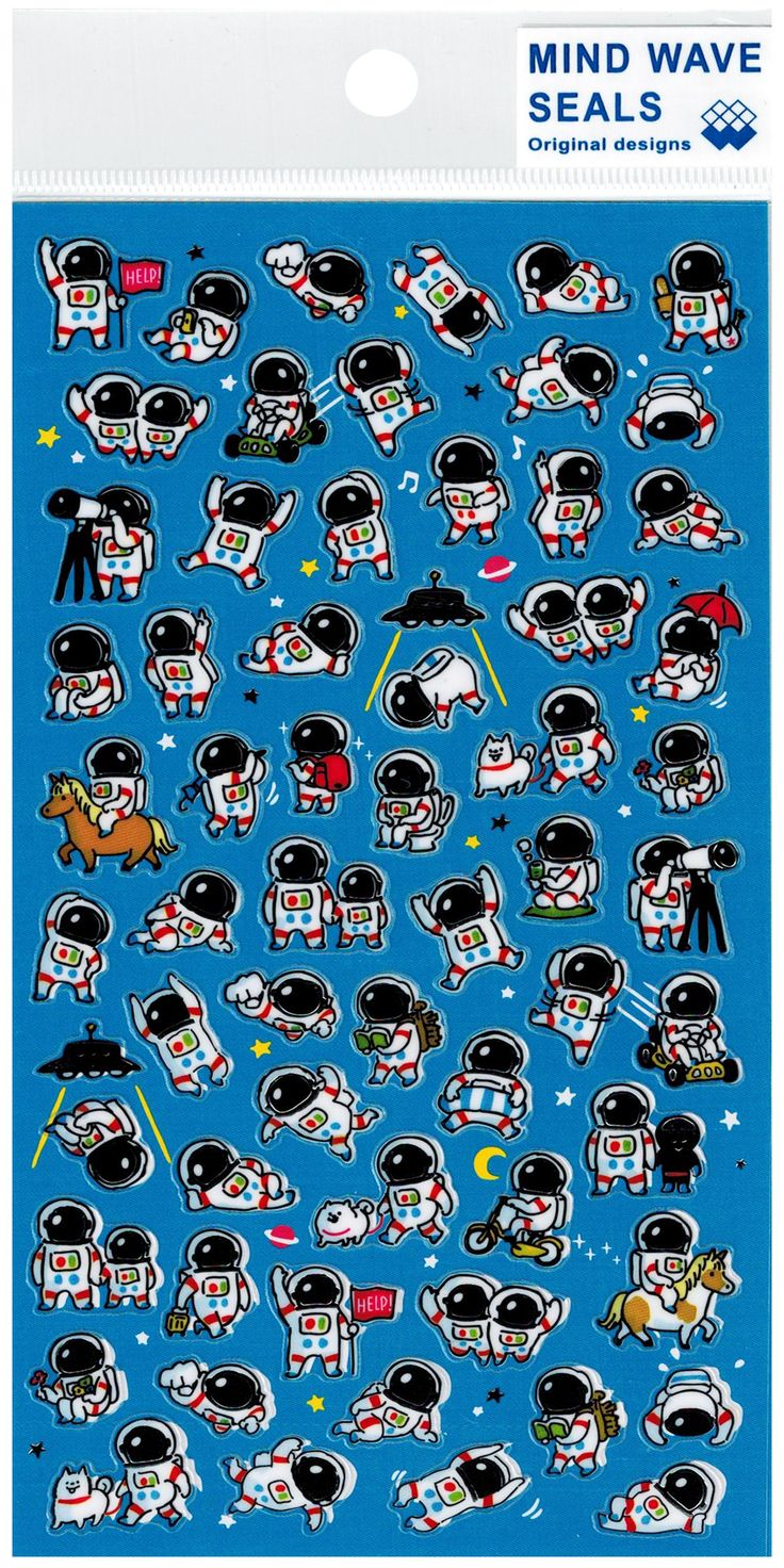Mind Wave Astronaut World Glossy Sticker Sheet. 769 best Cute Stickers  images on Pinterest   Cute stickers
