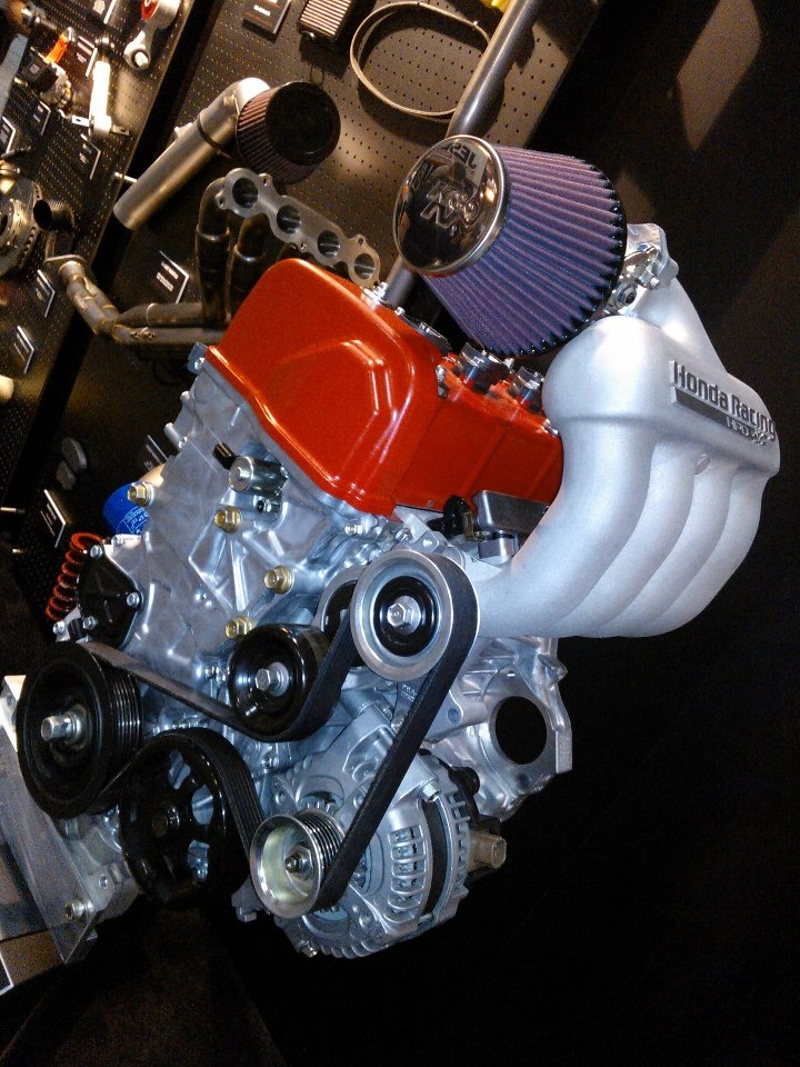Honda Racing/HPD Has This Engine On Display At The PRI Show. Motorcycle EngineJapanese  CarsStreet ...
