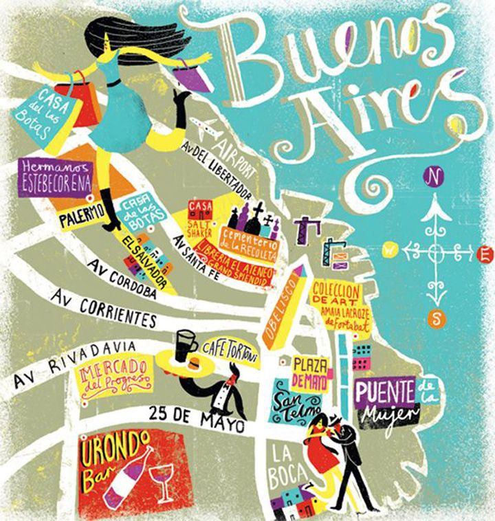 BYWENDY HUNG creativeroots.org The beautiful Buenos Aires is officially divided into 48barrios(districts). Each has a defining character and offers a guaranteedauthentic experience. As a travel...