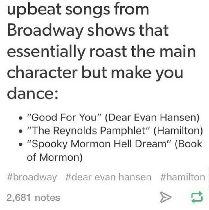 "Dear Mr Evan Hansen<<<I read that to the tune of ""dear mr. hamilton your fellow federalists would like to know how you'll be voting"""