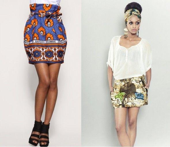 Couture : La jupe ethnique en wax africain – lesfashionbiches.com