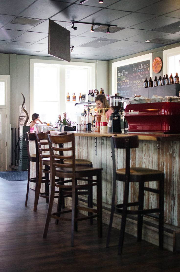 In Charleston and need a real coffee? Then head to this place to get your fill