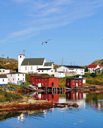 St. Stephen's Church - Salvage, Bonavista Bay, Newfoundland Photography by Stone Island Photography