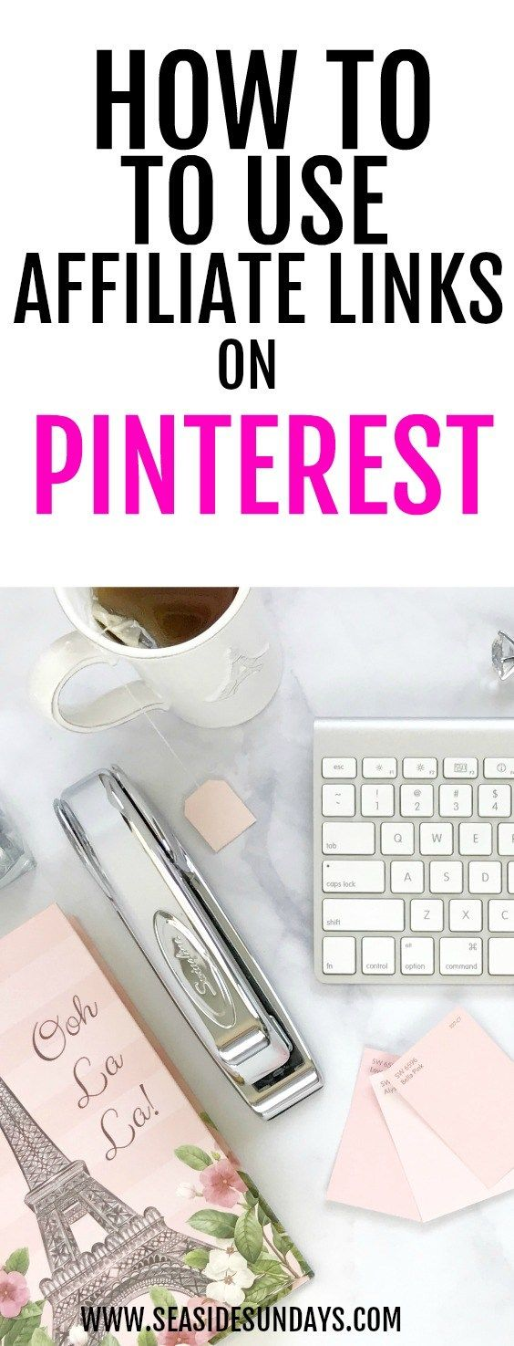 affiliate marketing | using affiliate links on Pinterest | passive income | making income | side hustle | how to make money