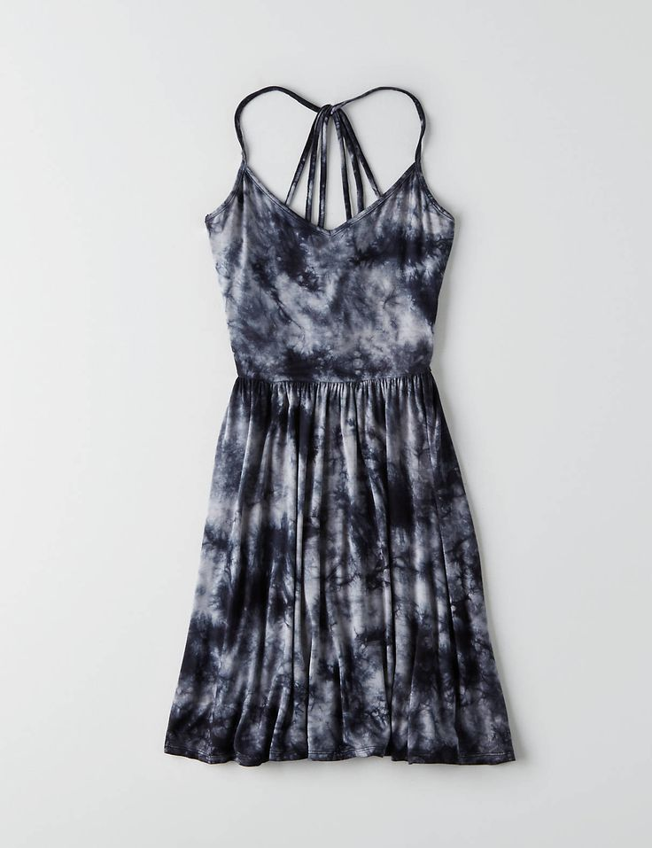 Spring vibes so strong, they could melt ice.  Shop the AEO Soft & Sexy Fit & Flare Dress   from American Eagle Outfitters. Check out the entire American Eagle Outfitters website to find the best items to pair with the AEO Soft & Sexy Fit & Flare Dress  .