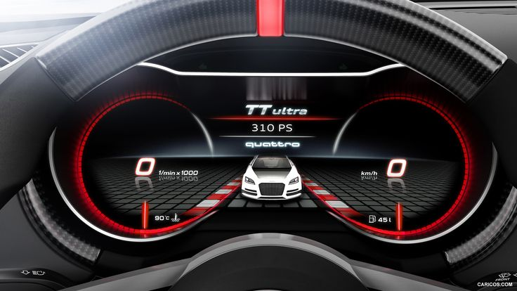Audi Tt Instrument Cluster Car Dashboard Pinterest