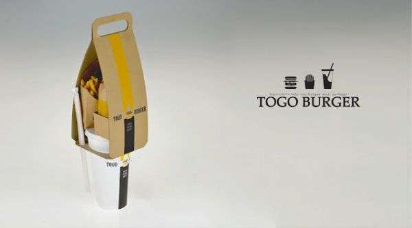 Fast Food Purses - The Eco-Friendly Togo Burger by Seulbi Kim Keeps Items in Order (GALLERY)