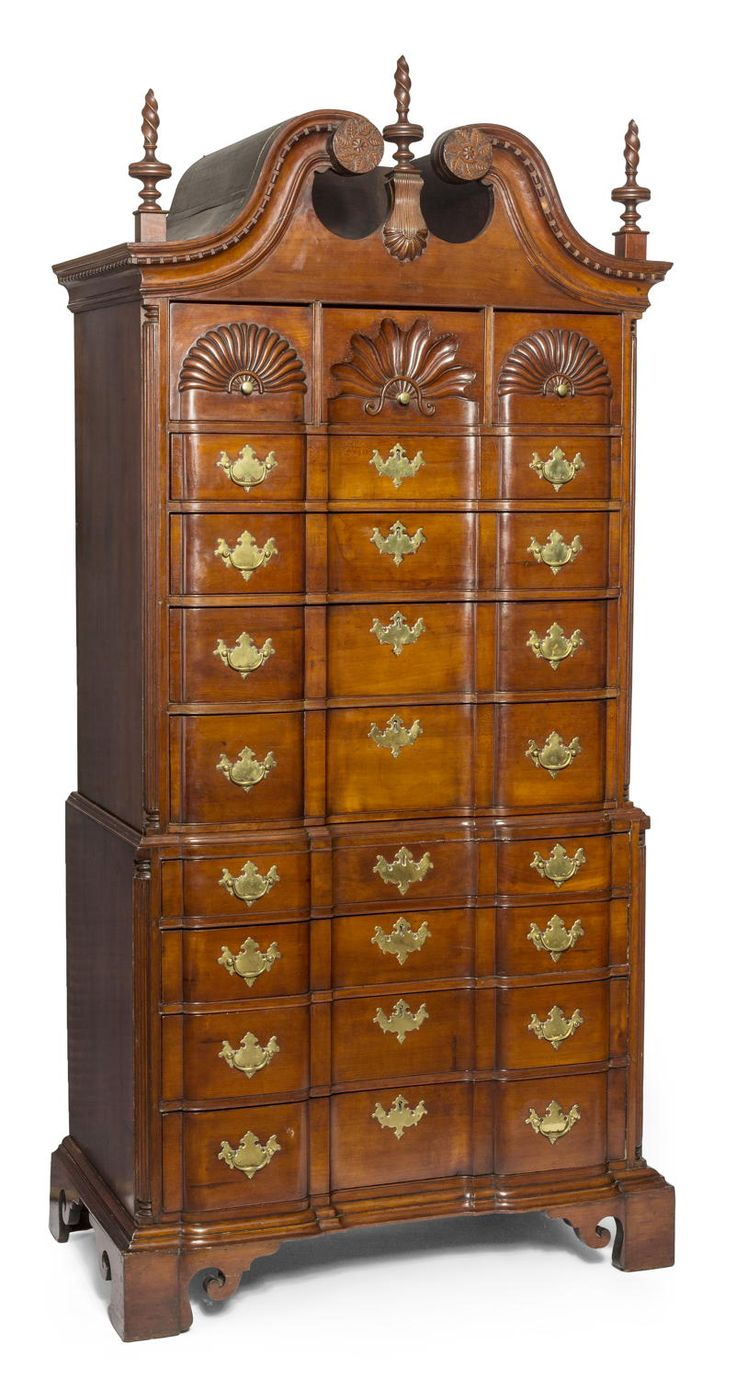 Chippendale block front chest on chest attr  Samuel Loomis   Victorian  FurnitureVintage. 194 best Muebles Inglaterra S XVIII images on Pinterest   Antique