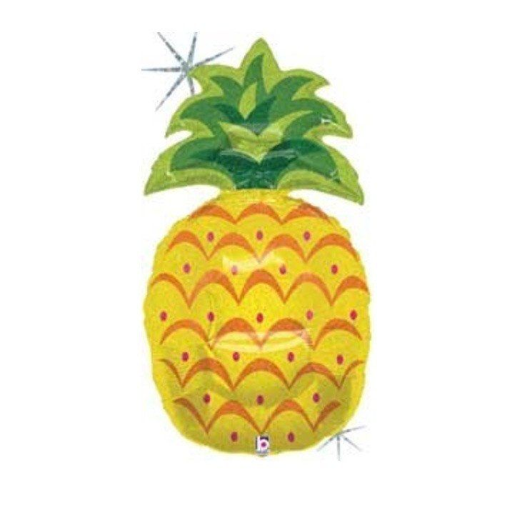 Pineapple Foil Balloons – Lucky Lulu Party Shop