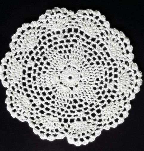 #Handmade #Crochet #CupMat is perfect for #homedecoration. Excellent for #gift.