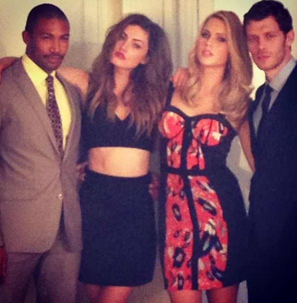 Photo of Charles Michael Davis  & his friend Joseph Morgan