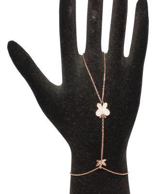 925 Ayar Gümüş Kelebek ve Yusufçuk Modeli Şahmeran, Pembe