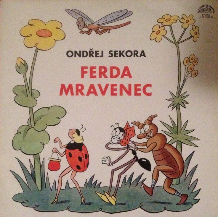 Ferda Mravenec LP, Ondrej Sekora, Supraphon 1975 by Mummysvintage on Etsy