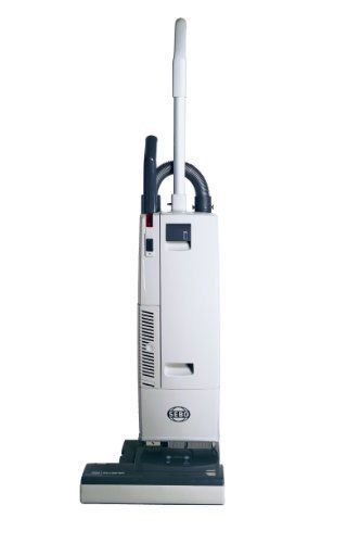 This SEBO 370 Comfort vacuum will meet all your carpet cleaning needs. The flat-to-the-floor 5.5 inch profile will come in handy when trying to get under couches and chairs. It has a very easier brush strip removal. It comes with an instant-use cleaning wand and suction hose and a two motor design. The incorrect height setting or worn brush light will come in handy.