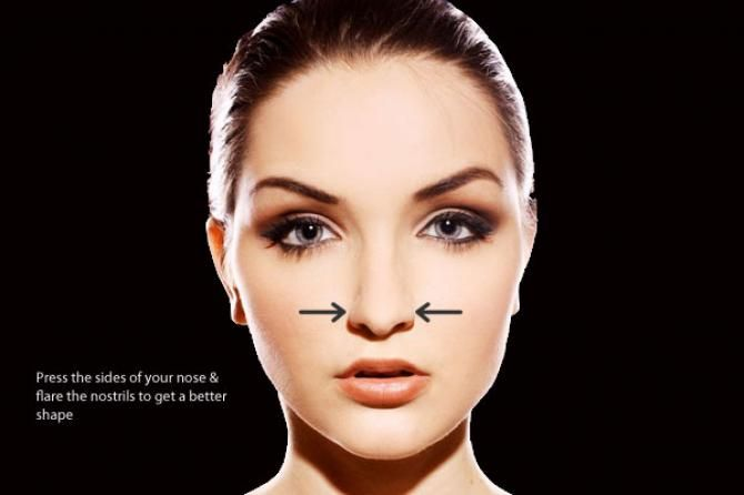 Down the ages beautiful features have always been defined as sharp nose, big eyes and high cheekbones, among others. While you need to be born with most of the features, plastic surgery has taken care of many problems. But in case you abhor the thoug