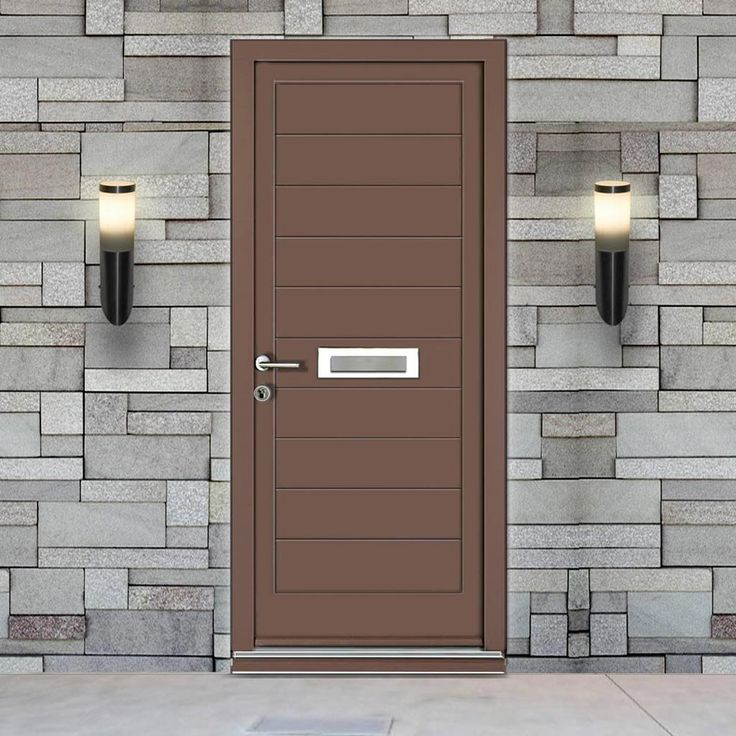Dale High Performance Chichester Door & Frame Set - Fully Decorated. #contemporaryfullyfinisheddoors #externalcontemporarydoor #externalmoderndoor